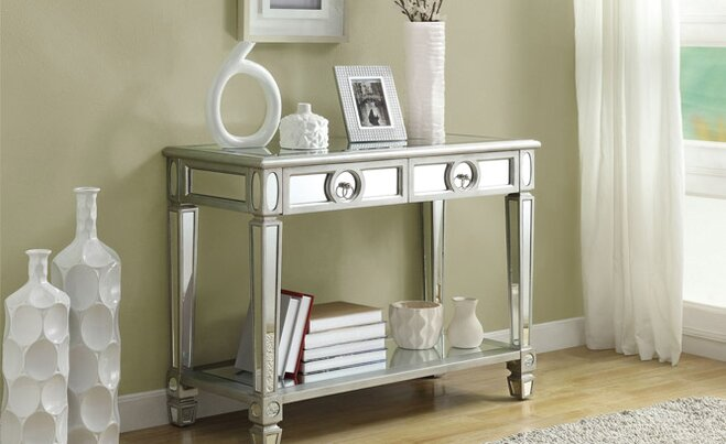 Ordinaire Get The Look: Mirrored Accent Furniture