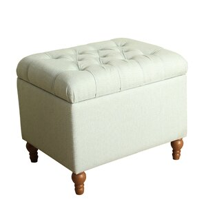 Newstead Medium Tufted Storage Ottoman by Alcott Hill