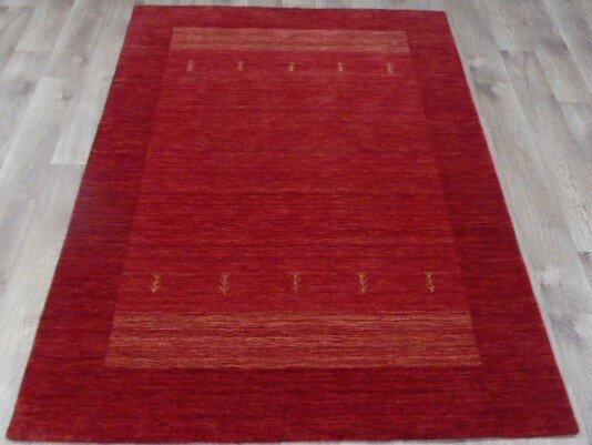 brick barrow handgefertigter teppich aus wolle und baumwolle in rot. Black Bedroom Furniture Sets. Home Design Ideas