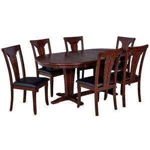 Bateson 7 Piece Tropical Hardwood Dining ..