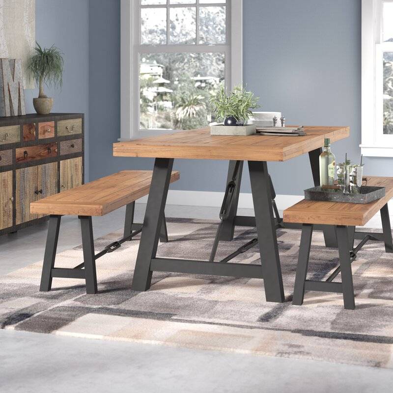 Dining Room Sets Austin Tx: Trent Austin Design Lebanon 3 Piece Wood Dining Set