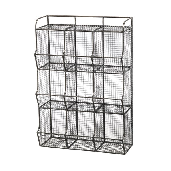 23 X 33 5 10 Wire Mesh 9 Bin Cubical Storage Reviews Allmodern