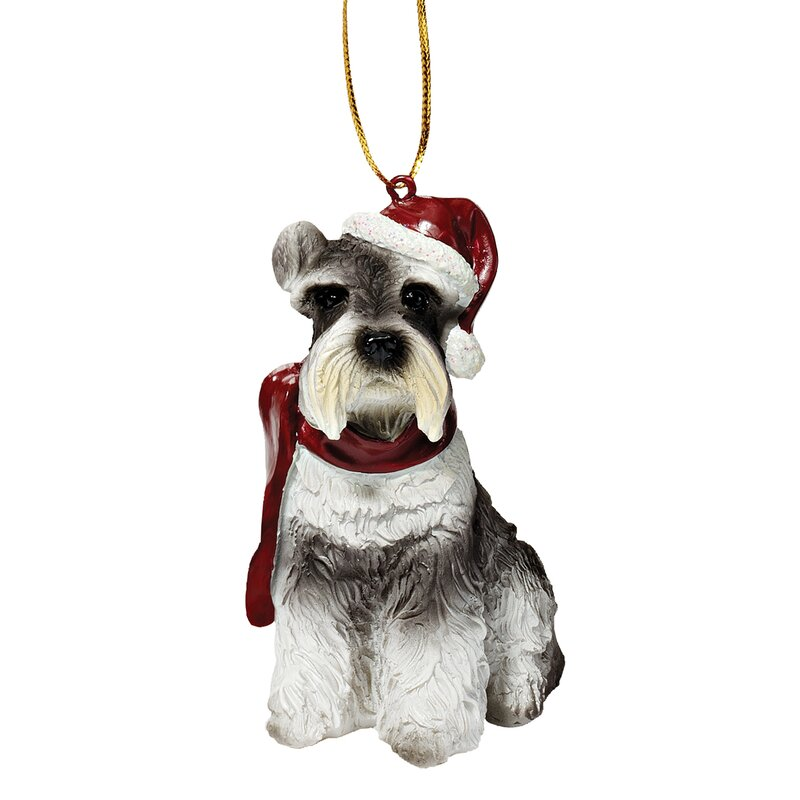 Schnauzer Christmas Decorations