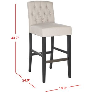 Hutsonville Bar Stool by Darby Home Co
