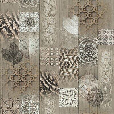 Faux Semblant 10m L X 53cm W Floral And Botanical Roll Wallpaper