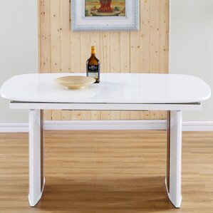 Beverly Solid Wood Extendable Dining Table by Brayden Studio