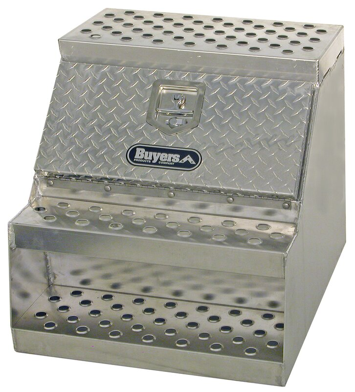 metal tool box for truck. step box truck tool metal for
