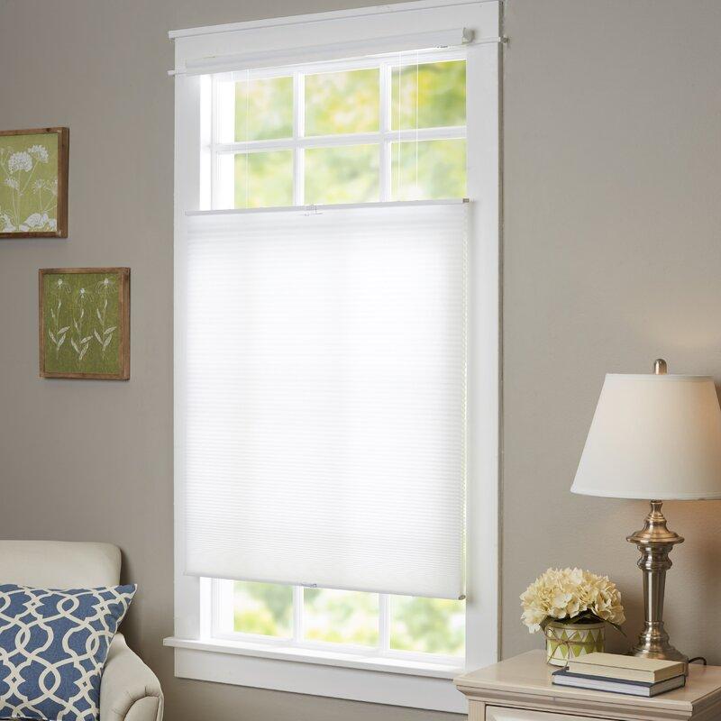 wayfair basics wayfair basics top down bottom up cordless honeycomb cellular shade reviews. Black Bedroom Furniture Sets. Home Design Ideas