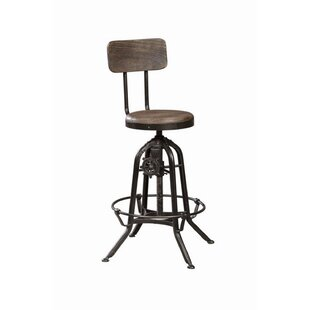 Kylie Adjustable Height Swivel Bar Stool