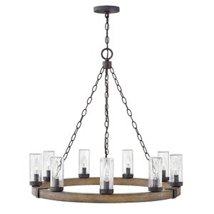 Truc 9-Light Outdoor Chandelier