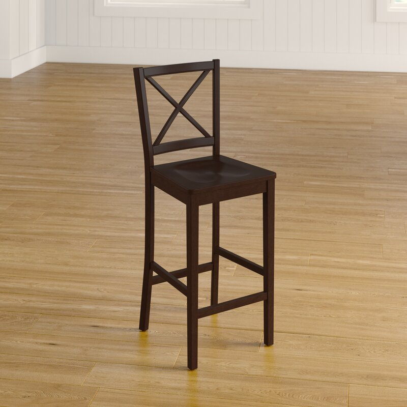 Charlotte Cross Back 24 Bar Stool Reviews Birch Lane