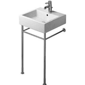 Bathroom Sinks With Metal Legs console sinks you'll love | wayfair