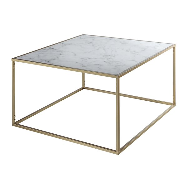 Marblegranite top coffee tables youll love wayfair watchthetrailerfo