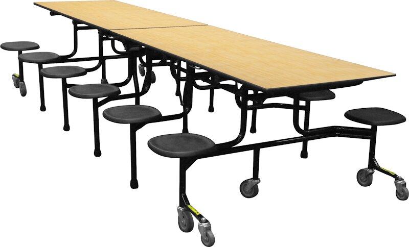 Palmer Hamilton Rectangular Cafeteria Table & Reviews