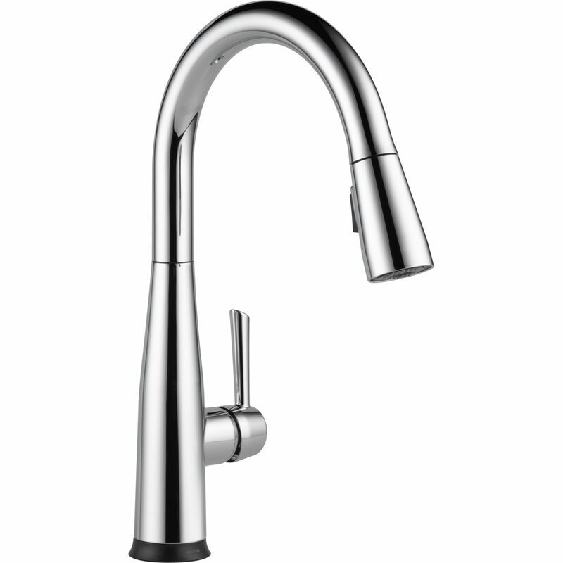 Kitchen Faucet delta essa single handle pull down standard kitchen faucet with