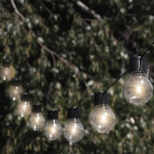 Socialite 10-Light Globe String Light & Outdoor String Lights Youu0027ll Love | Wayfair