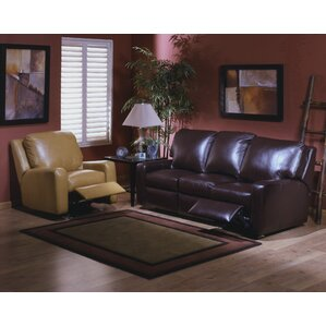 Omnia Leather Mirage Leather Configurable Living Room Set