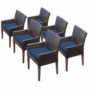 Napa Patio Dining Chair With Cushion Set Of 6