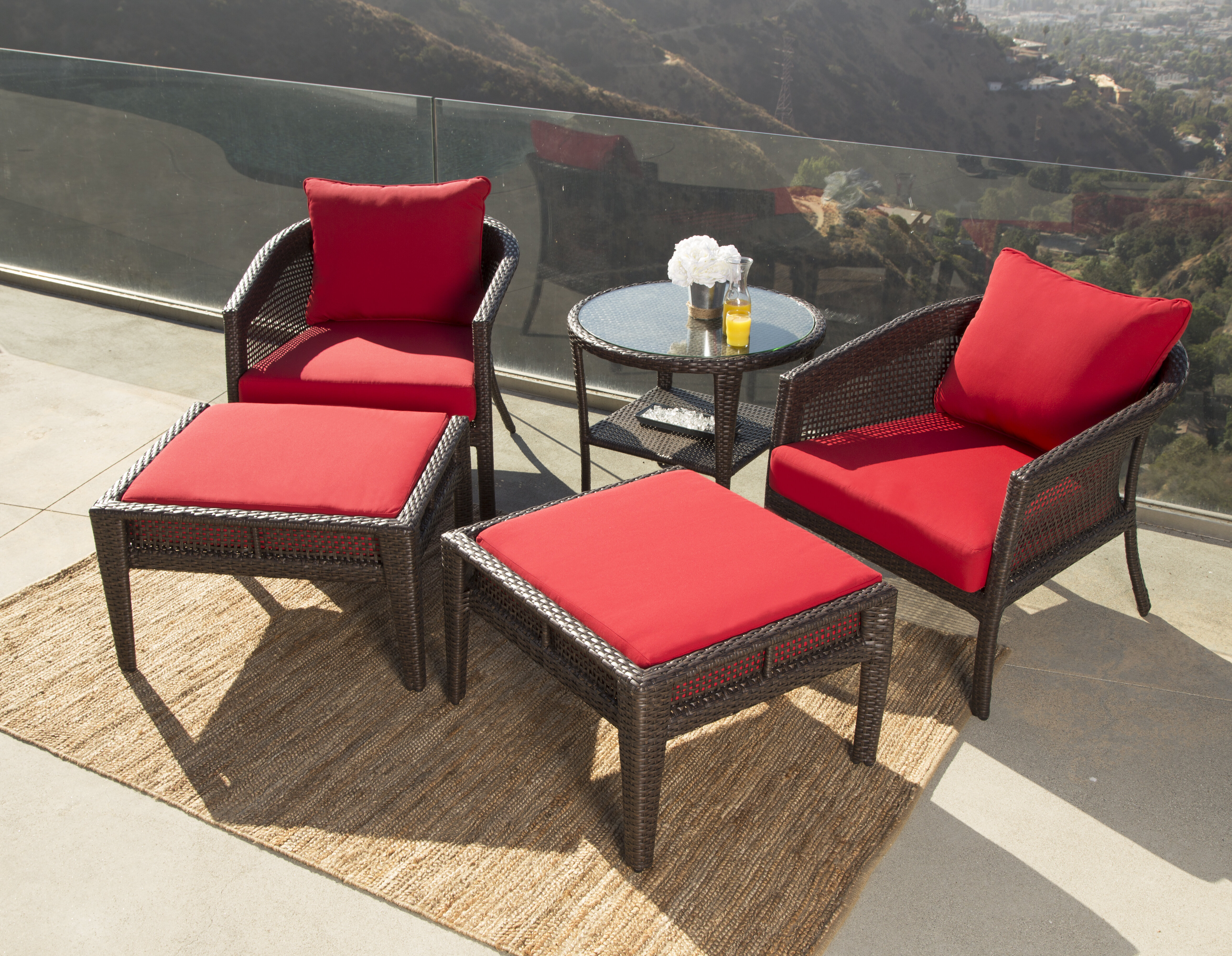 August Grove Fincham Outdoor Wicker Patio Chair & Reviews