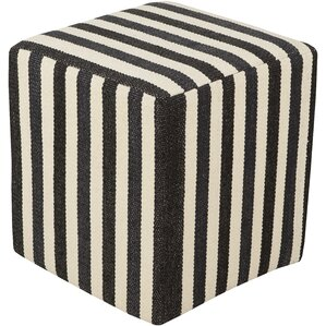 Redfield Pouf Ottoman by Darby Home Co