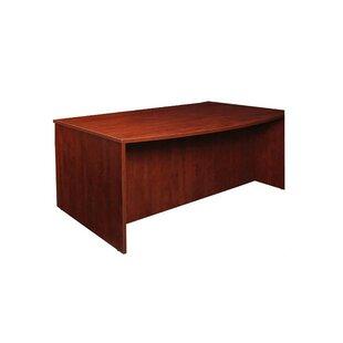 half circle desk desks you ll love wayfair rh wayfair com semi circle desk with cut out half circle desk drawer