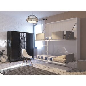 kirk twin murphy bed - Modern Murphy Bed