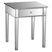 lucian 1 drawer end table