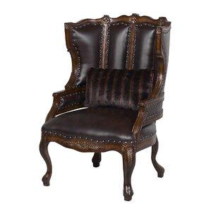 Cavali Wingback Chair by Benetti's Italia