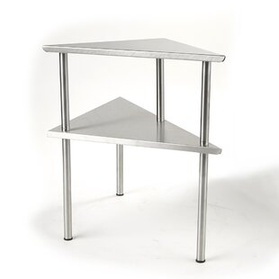 2 Tier Kitchen Corner Rack Prep Table