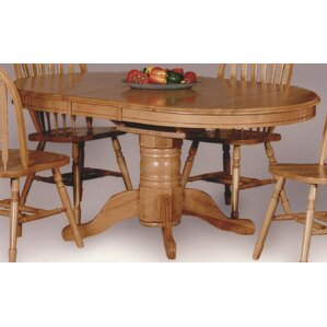 Oak Rustic & Farmhouse Kitchen & Dining Tables You\'ll Love | Wayfair