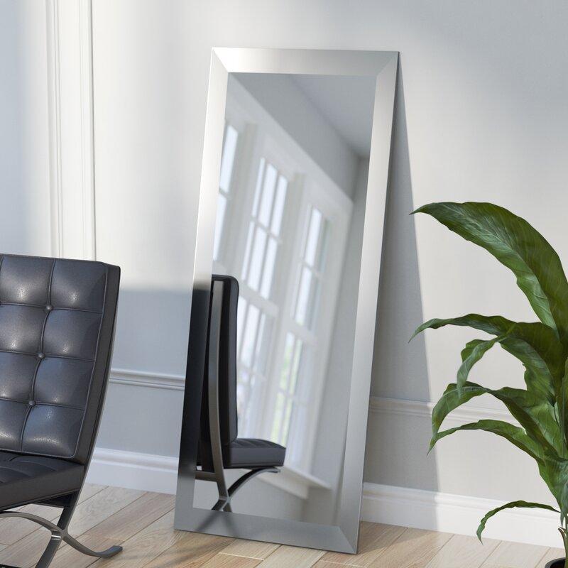 industrial full length wall mirror