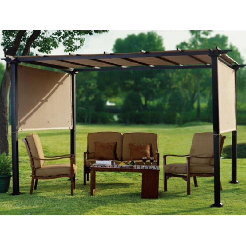Replacement Canopy for Pergola - Sunjoy Replacement Canopy For Pergola Wayfair