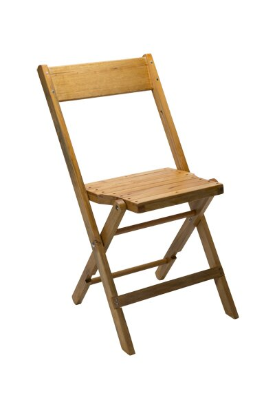 Genial Vintage Stadium Wood Folding Chair