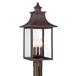 Tewksbury Outdoor 3-Light Lantern Head