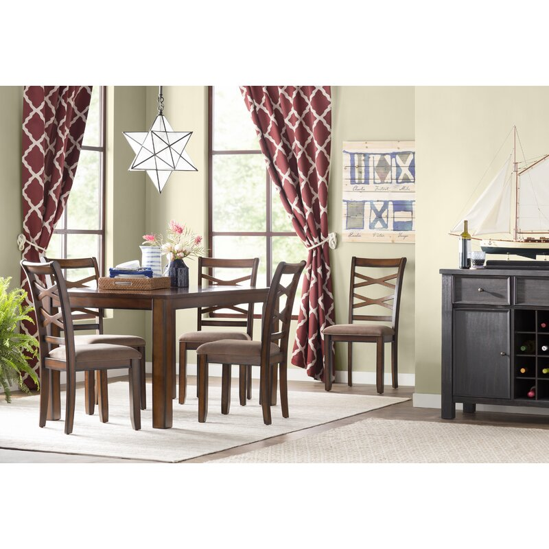 Superieur Crossback 7 Piece Dining Set
