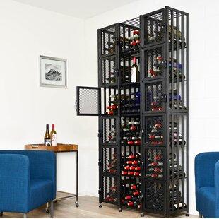Locker 96 Bottle Floor Wine Rack