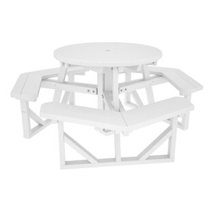 White Picnic Tables Youu0027ll Love   Wayfair
