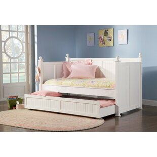 Trundle White Wood Daybeds Youll Love Wayfair