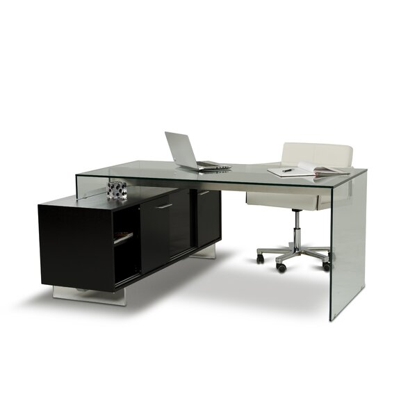 Wade Logan Gerardo L-Shape Computer Desk & Reviews | Wayfair
