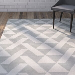 Hooper Hand-Tufted Gray Area Rug