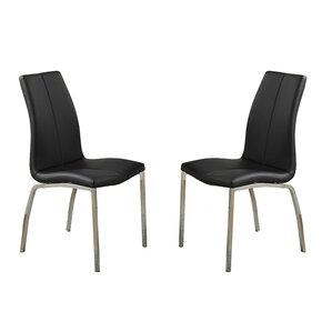 Bobkona Koren Parsons Chair (Set of 2) by Poundex