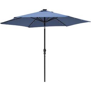 Lindsey 9' Lighted Umbrella