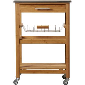 Weldona Kitchen Cart With Stainless Steel Top Reviews