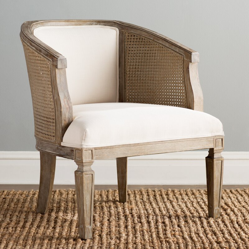 Legend Barrel Accent Chair: Birch Lane™ Wrentham Barrel Chair & Reviews
