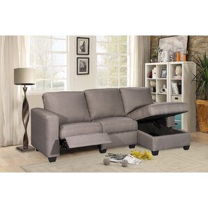 Andrey Storage Reclining Sectional  sc 1 st  Wayfair.com : chaise recliner sofa - Sectionals, Sofas & Couches