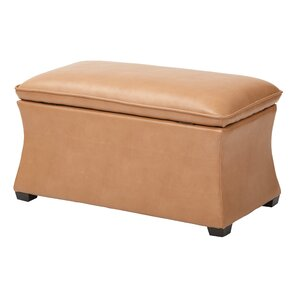 Hourglass Storage Ottoman by Ave Six