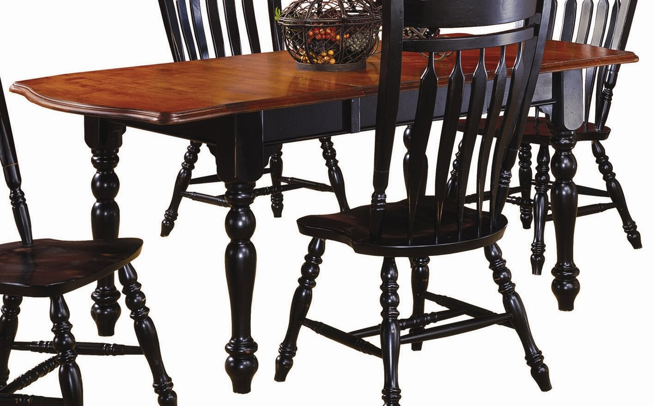 Sunset Trading Sunset Selections Drop Leaf Extension Dining Table ...