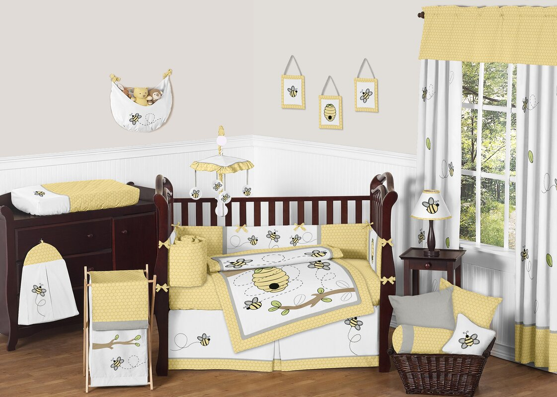 Bee Crib Bedding Set
