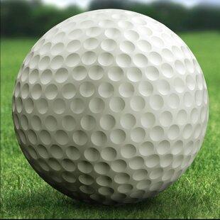 Golf Ball Garden Art
