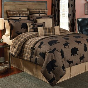 Summit 4 Piece Reversible Comforter Set